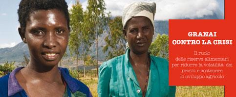 Granai contro la crisi. Il nuovo rapporto ActionAid sulla volatilità dei prezzi alimentari
