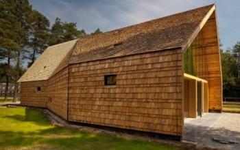 Olanda: una chiesa ecologica, fatta di legno riciclato