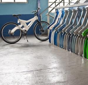 Muzzicycle, la bicicletta che viene dai rifiuti