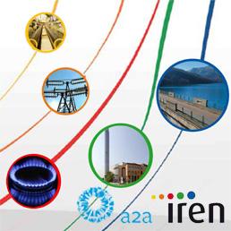 Iren-A2A, no alla grande Multiutility del nord