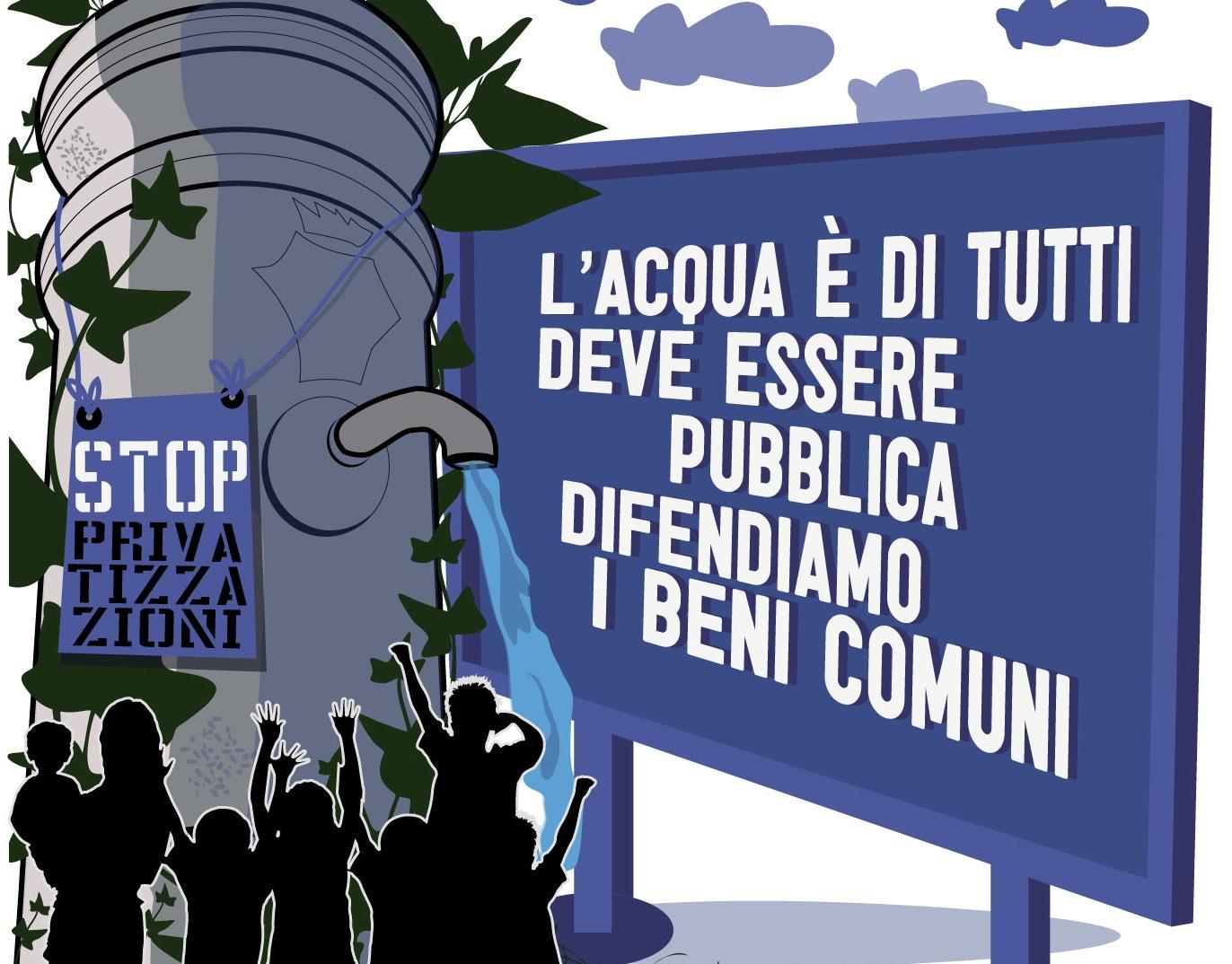 Comitato Acqua Bene Comune Lucca: un appello per il rispetto del referendum