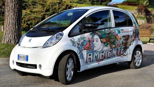 Auto elettriche per la flotta aziendale BNL