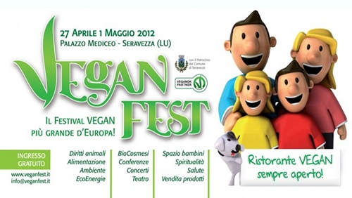 VeganFest 2012: a Seravezza (LU) dal 27 aprile al 1 maggio