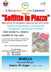 """Soffitte in Piazza"" Sabato a Marlia"