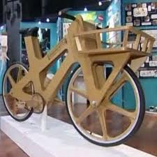 La bicicletta di cartone