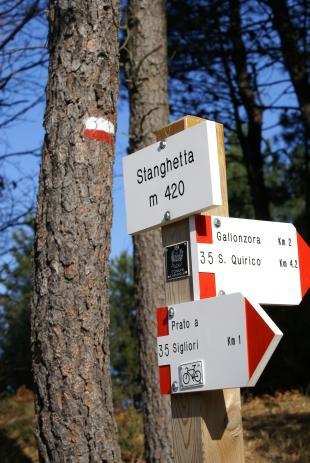 Si amplia e si collega con il versante pisano la rete sentieristica dei Monti Pisani