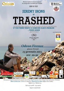 "Prima a Firenze del Film ""TRASHED"""