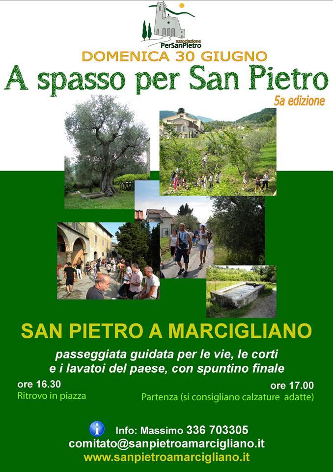 """Il 30 Giugno """"A spasso per San Pietro"""""""