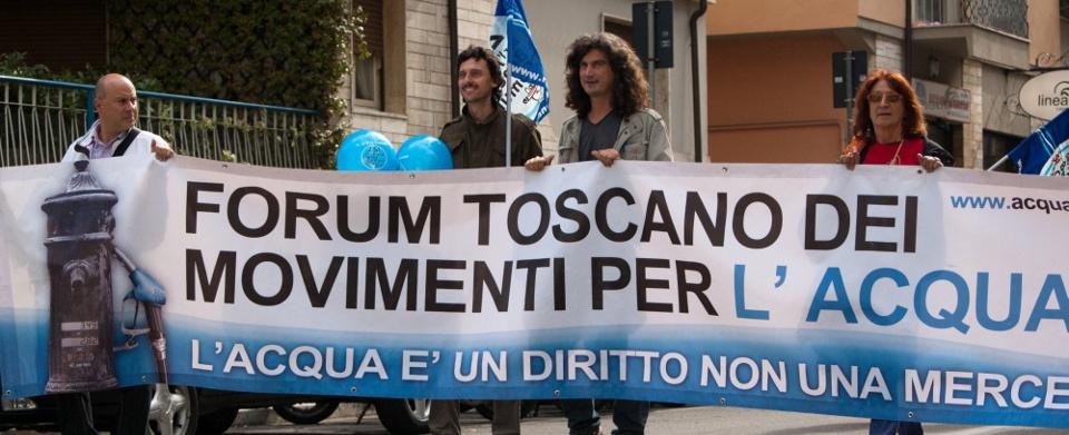 Acqua, depositato ricorso al Tar della Toscana