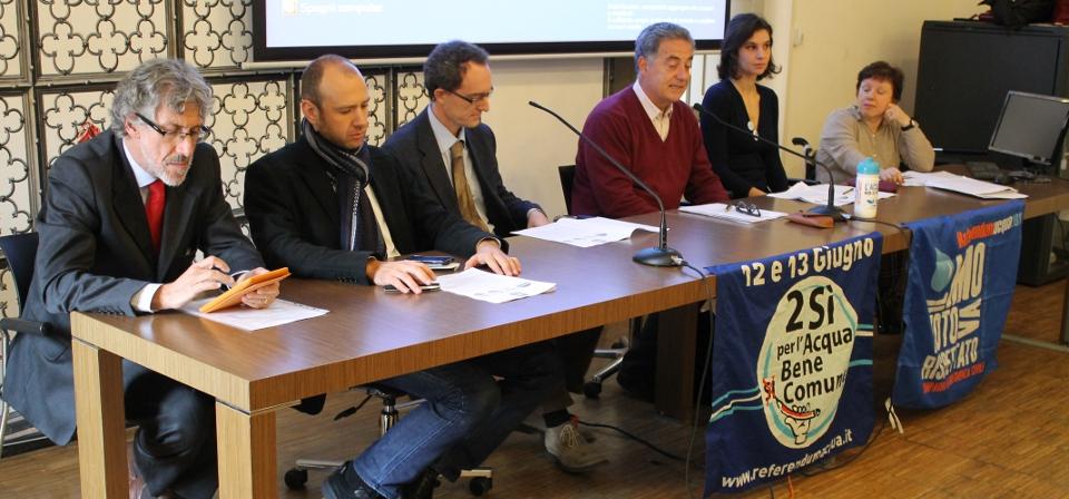 Siena, nasce l'intergruppo dei Consiglieri impegnati per l'Acqua Bene Comune