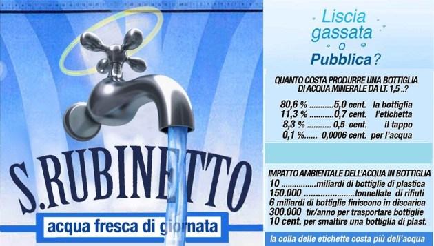 Censis: in Italia record per il consumo di acqua in bottiglia