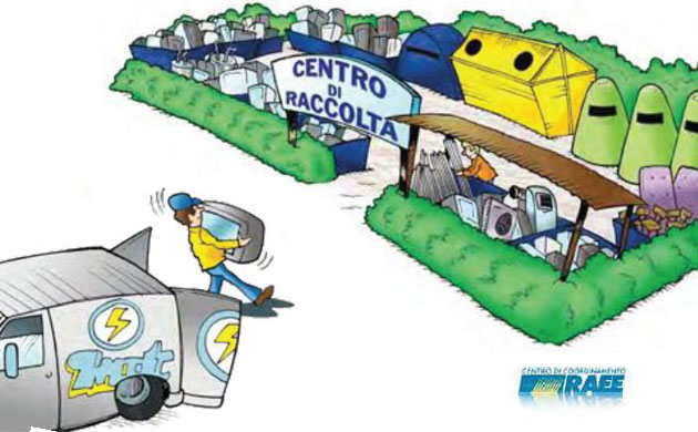 Coordinamento regionale umbria rifiuti zero rifiuti for Contributo raee