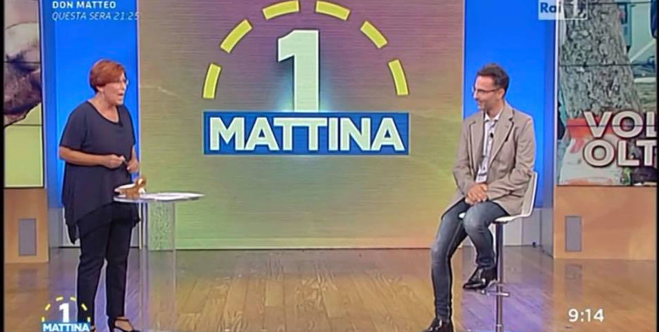 """Sisma. Ciacci (Asm Rieti) a """"Uno Mattina"""" per raccontare la gestione dell'emergenza"""