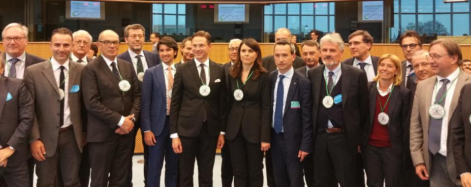 Alessio Ciacci tra i campioni dell'economia circolare a Bruxelles con Legambiente