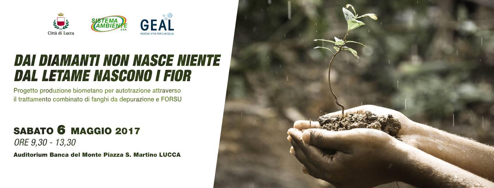 Energia pulita dall'organico, convegno a Lucca il 6 Maggio