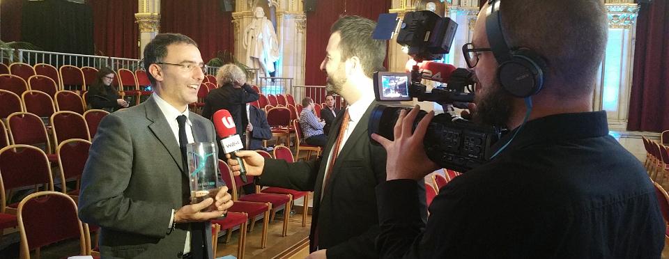 """Il Premio europeo """"Innovation in Politics"""" ad Alessio Ciacci"""