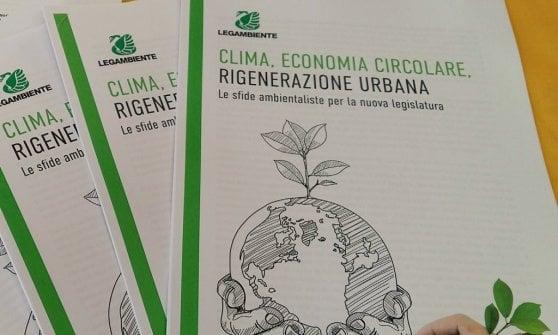 """Legambiente ai partiti: """"Cinque proposte green per rilanciare l'Italia"""""""