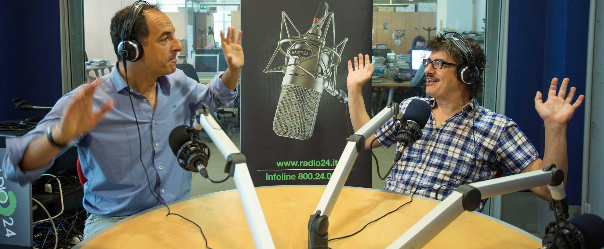 """Alessio Ciacci a """"Si può fare"""" di Radio24"""