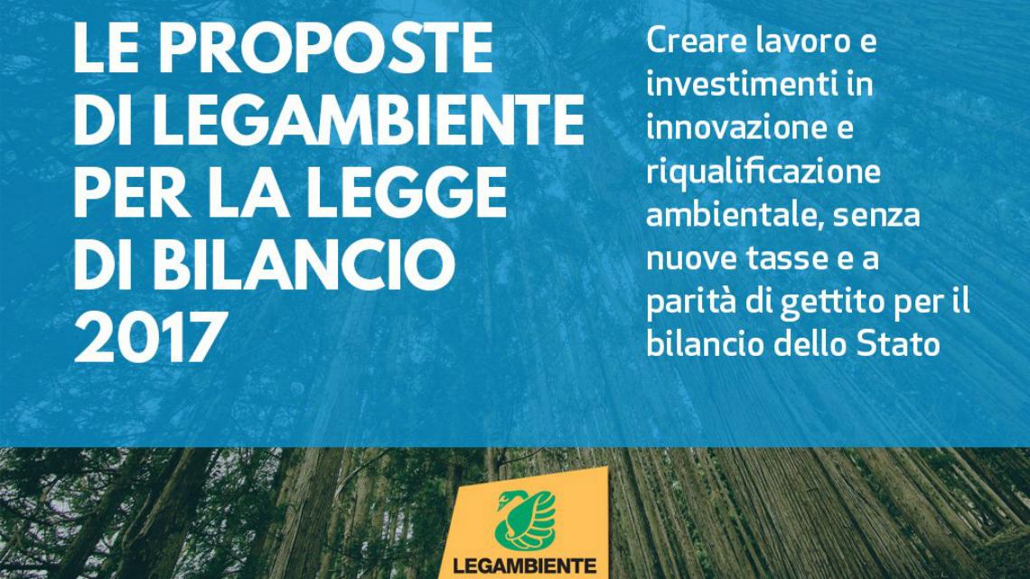 """Fonti rinnovabili, mobilità, scuole sicure: le proposte di Legambiente per una manovra più """"green"""""""