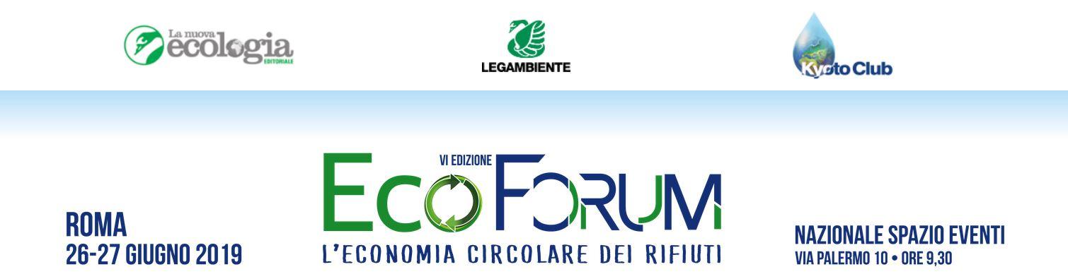 A Roma l'EcoForum nazionale di Legambiente