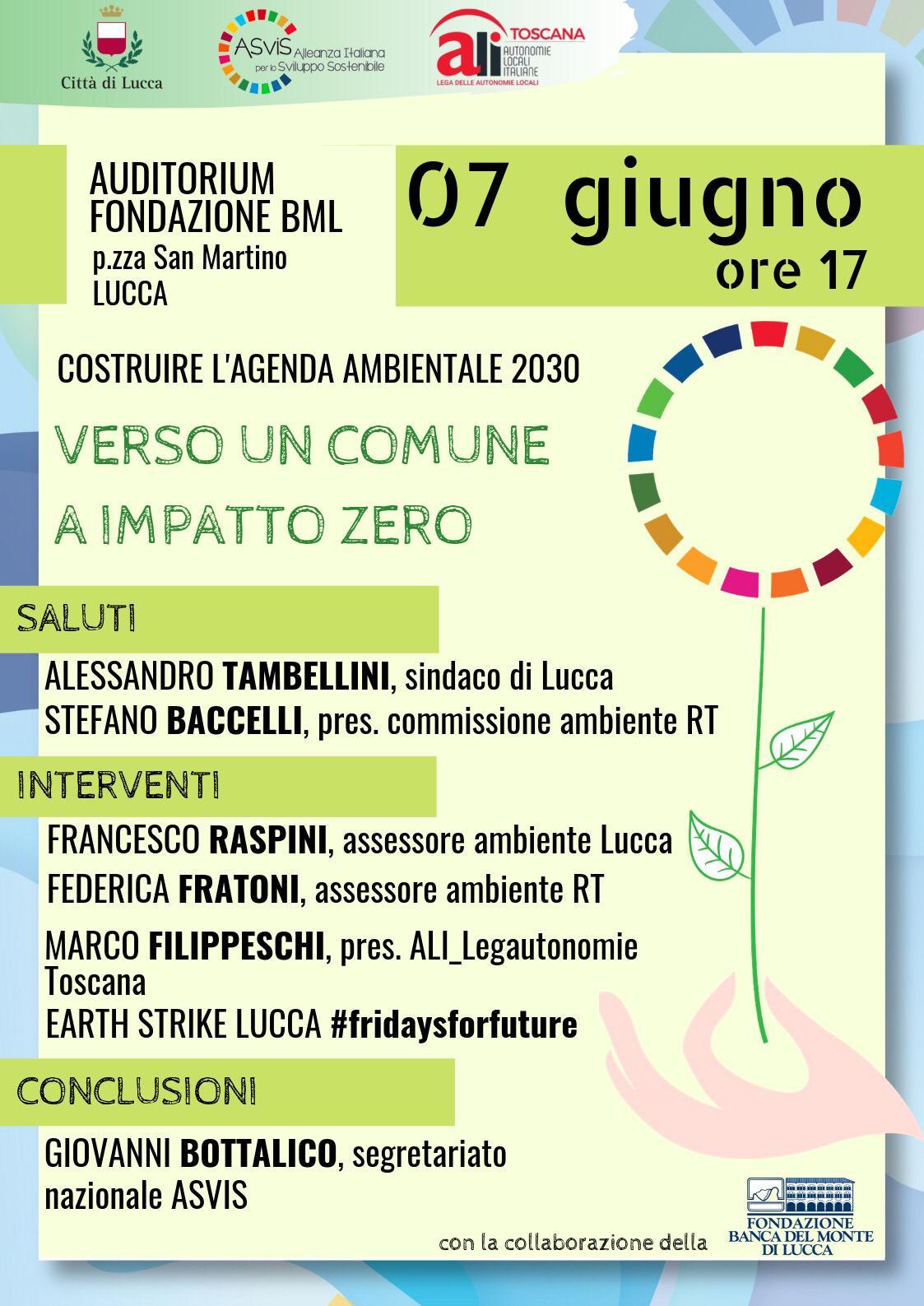 Lucca: Verso un Comune ad impatto zero
