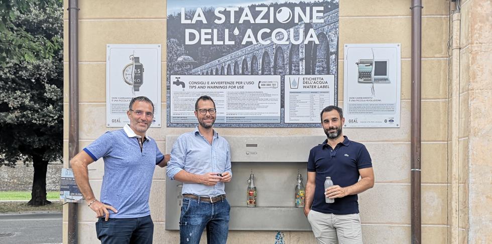 In arrivo a Lucca quattro nuove Stazioni dell'Acqua
