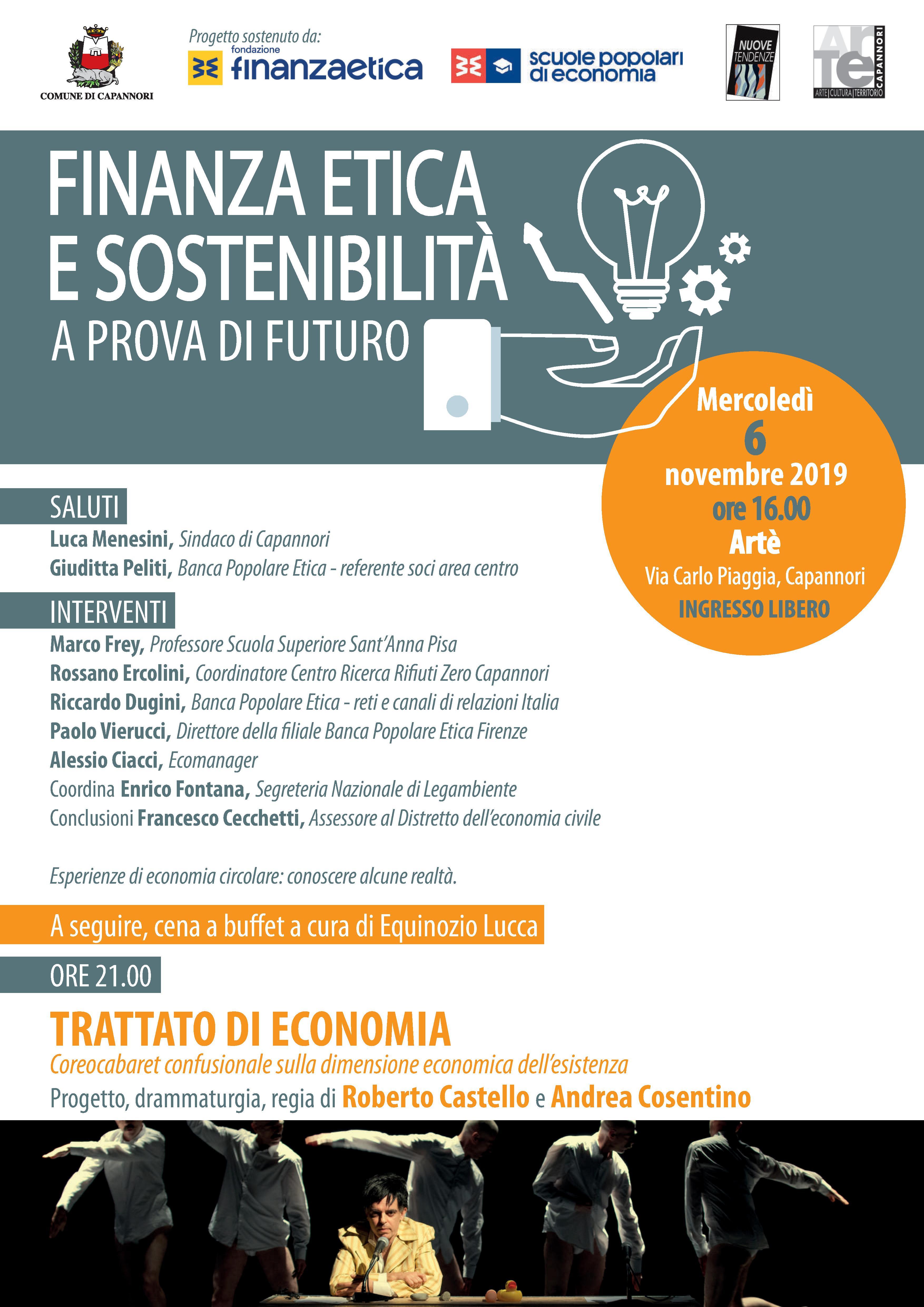 Finanza Etica e Sostenibilità