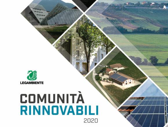 Comunità rinnovabili. Innovazione energetica in Italia e le comunità rinnovabili nel report di Legambiente