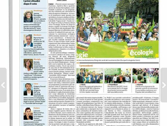 Bici, mense bio e giustizia sociale, l'onda dei sindaci versi in Francia