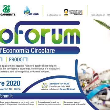 Ecoforum: l'economia circolare in Italia vale 88 miliardi e occupa 575mila lavoratori