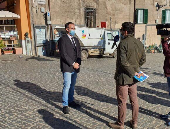 Da NEMI partono i nuovi servizi di raccolta differenziata di Minerva Ambiente