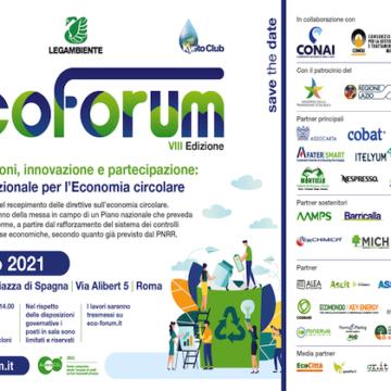 Conferenza nazionale EcoForum – VIII edizione