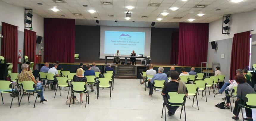 Assemblea Soci Acsel: presentato il Piano Industriale e Strategico, la chiusura in utile e l'aumento delle raccolte differenziate